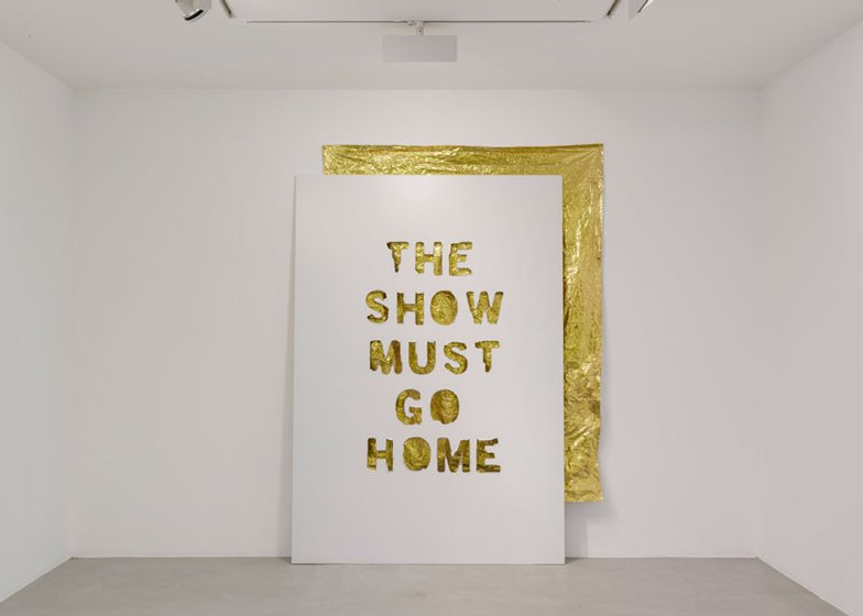 We cant go home again exhibition by Didier Faustino