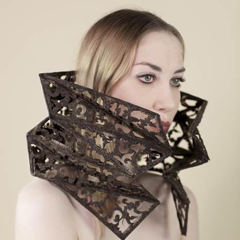 Headgear to thwart mind-reading surveillance<br /> cameras by Fabrica researchers