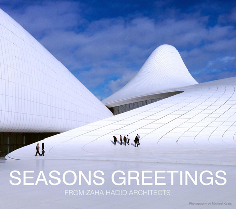 Zaha Hadid Architects christmas card