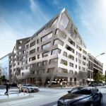 Daniel Libeskind designs metallic apartment block for Berlin