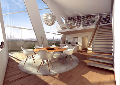 Daniel Libeskind Designs Metallic Apartment Block For Berlinu0027s  Chausseestrasse