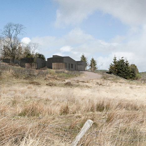 John Pawson designs countryside lodge for Alain de Botton's Living Architecture project