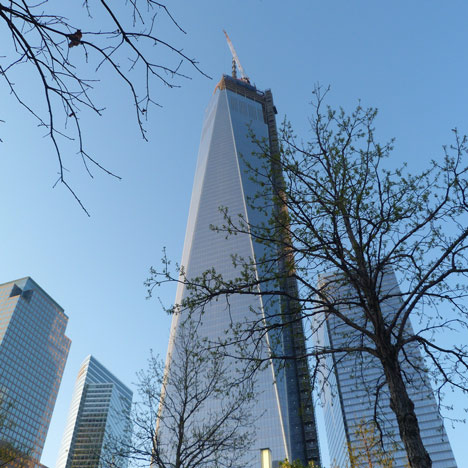 One World Trade Center tops-out photo by Placeboe