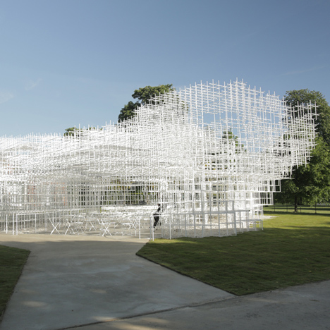 Serpentine Gallery Pavilion 2013 by Sou Fujimoto