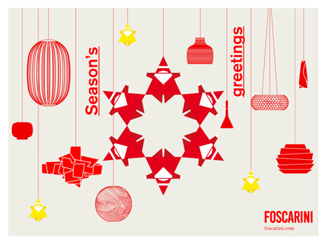Foscarini christmas card