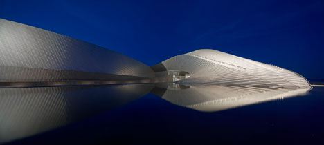Exterior: The Blue Planet by 3XN - photographed by Adam Mørk