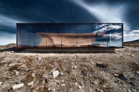 Exterior: Reindeer Pavilion by Snøhetta - photographed by Ken Schluchtmann