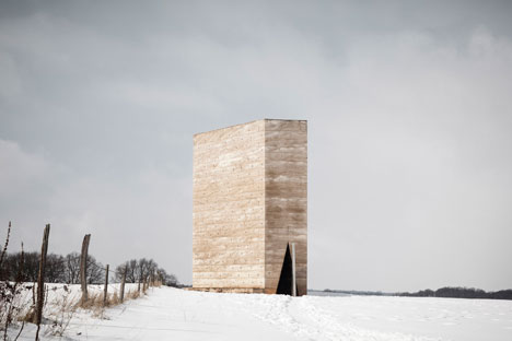 Exterior: Bruder Klaus Field Chapel by Peter Zumthor - photographed by Tim Van de Velde