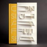 """First 3D-printed book cover"" created with a MakerBot"