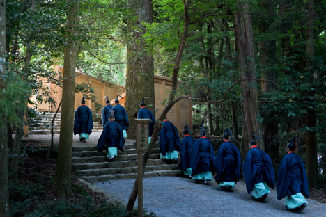 Shrine at Ise, Japan - 52 Weeks, 52 CIties, by Iwan Baan