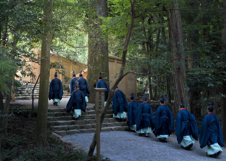 Shrine at Ise, Japan