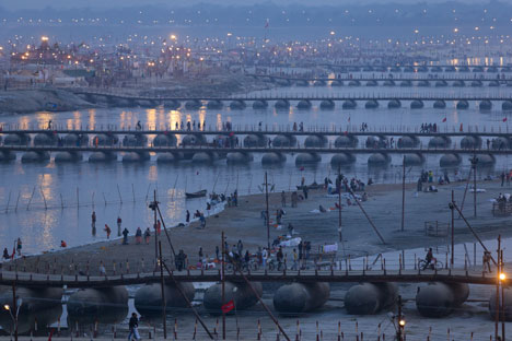 Kumbh Mela in Allahabad, India - 52 Weeks, 52 CIties, by Iwan Baan