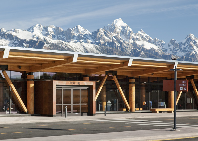 Jackson Hole Airport by Gensler