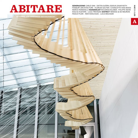 Abitare issue 537 cover