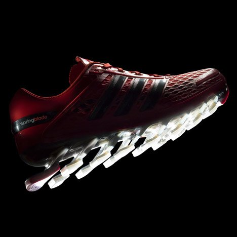 Adidas launches Springblade Razor trainers with soles made of curved pads