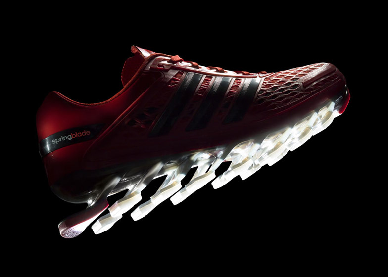 reputable site 9dc9d b2669 Adidas launches Springblade Razor trainers