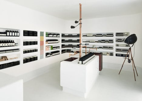 Aesop store in Kyoto by Simplicity
