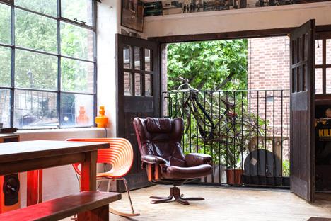Airbnb Hoxton Loft interior