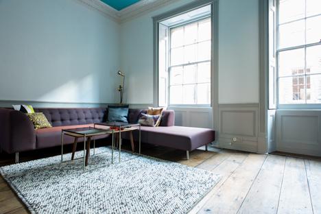 Airbnb Spitalfields loft interior