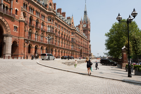 The Clock Tower at St Pancras Chambers