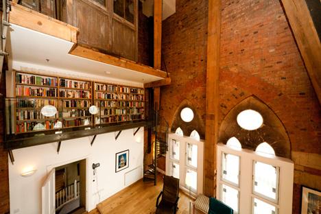 Airbnb clock tower interior