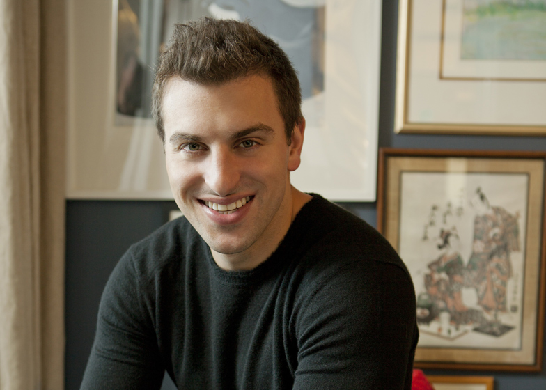 Airbnb founder Brian Chesky portrait