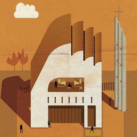 Archibet alphabet of architects by Federico Babina_dezeen_5sq