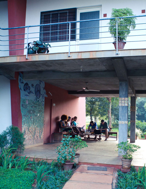 Auroville students