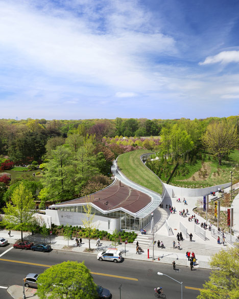 Brooklyn Botanic Garden Visitor Center-Weiss/Manfredi