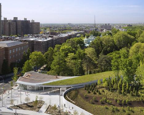 Brooklyn Botanic Garden Visitor Center-WEISSMANFREDI