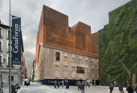 CaixaForum, Madrid by Herzog & de Meuron