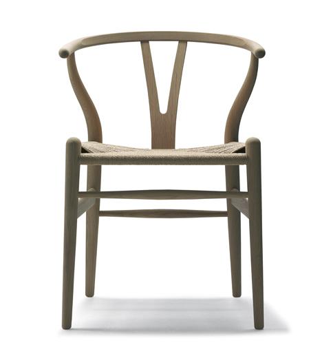 CH24 Wishbone chair designed by Hans J. Wegner for Carl Hansen & Son in 1949