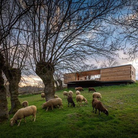 Churtichaga + Quadra-Salcedo built their Four Seasons House in an idyllic meadow