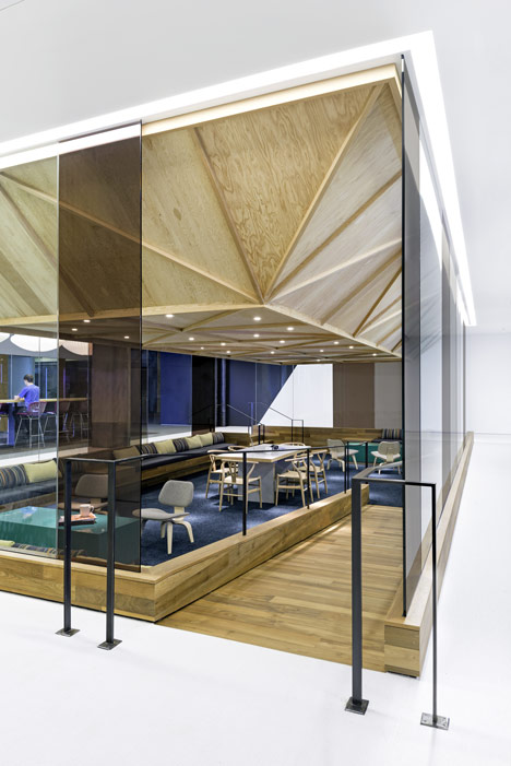 cisco offices studio oa. gallery cisco offices studio by oa features wooden meeting pavilions oa