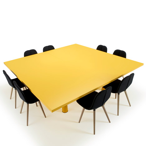 Claesson Koivisto Rune unveils Xtra Large modular table for Offecct