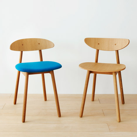 Cobrina wooden furniture collection by Torafu Architects