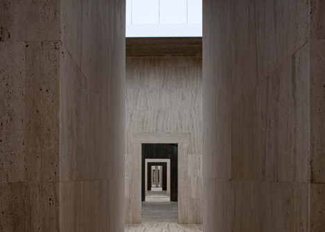 Extension to Gubbio Cemetery by Andrea Dragoni