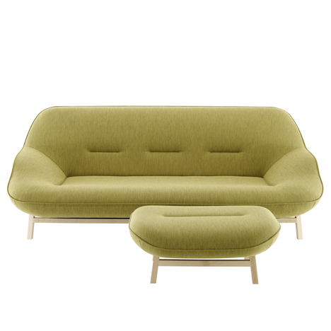 Philippe Nigro designs rounded sofa for Ligne Roset