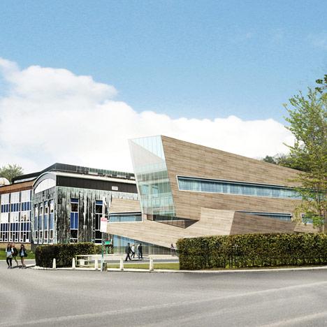 Daniel Libeskind physics centre for Durham University_dezeen_1sq