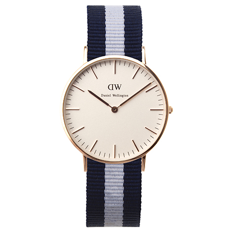 Daniel Wellington Classic Glasgow Lady rose