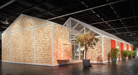 Das Haus 2014 house of the future concept by Louise Campbell at imm cologne