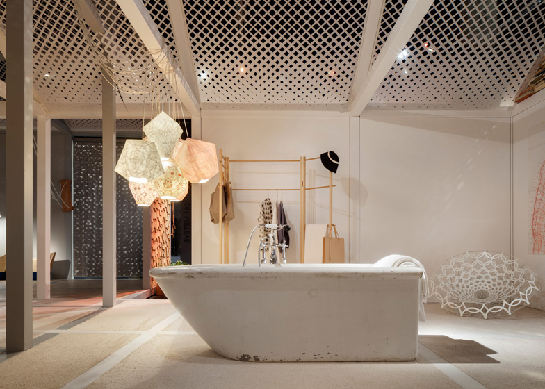 Imm Colgne das haus 2014 installed at imm cologne by louise cbell