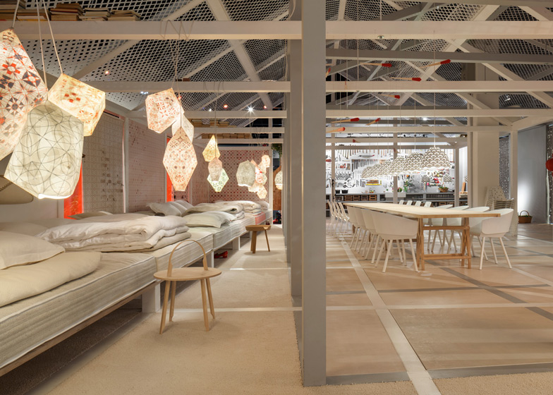 Das Haus 2014 Installed At Imm Cologne By Louise Campbell