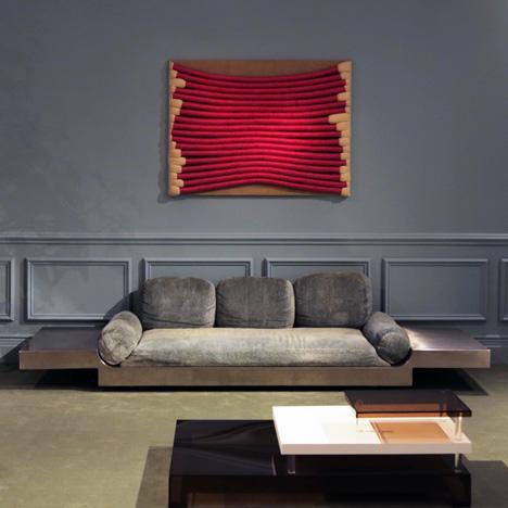 Maria Pergay interior, presented by Demisch Danant at Design Miami 2013