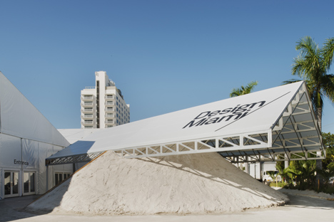Design Miami 2013 pavilion by Formlessfinder