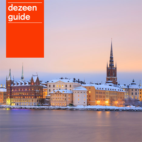 Dezeen Guide update February 2014 - Stockholm image from Shutterstock