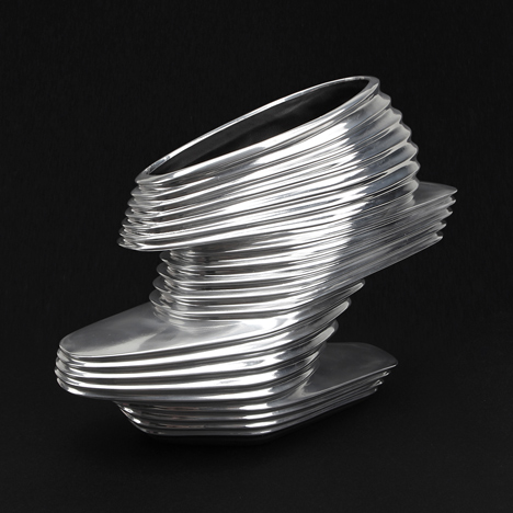 NOVA Shoe by Zaha Hadid for United Nude at Selfridges