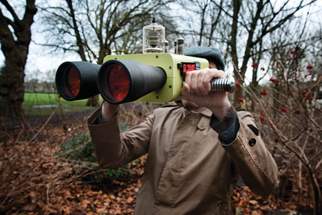 Dominic Wilcox's Future and Past Binoculars