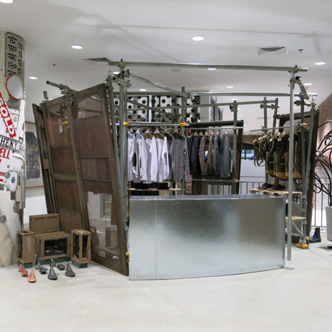 Dover Street Market fashion store New York
