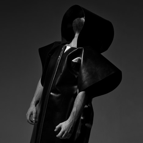 "Martijn Van Strien's Dystopian Brutalist Outerwear is ""a kind of trend forecast"""